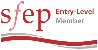 Logo for entry-level membership of the Society for Editors and proofreaders